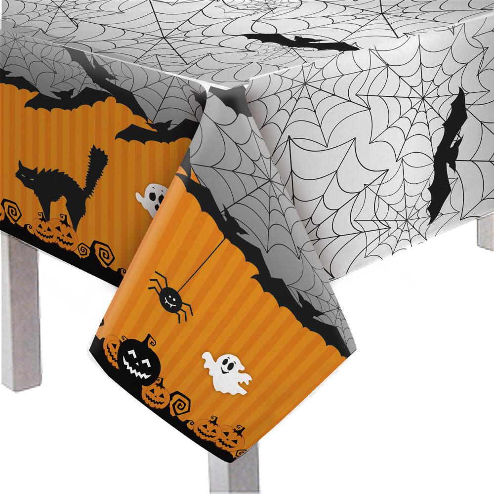 Toalha De Mesa Halloween 1,18m X 1,80m - Cromus