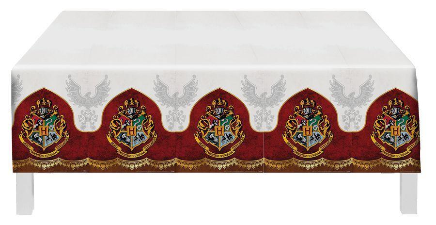 Toalha De Mesa Plástica Harry Potter 1,20m X 1,80m - Festcolor