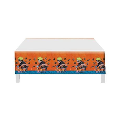 Toalha De Mesa Plástica Naruto 1,20m X 1,80m - Festcolor