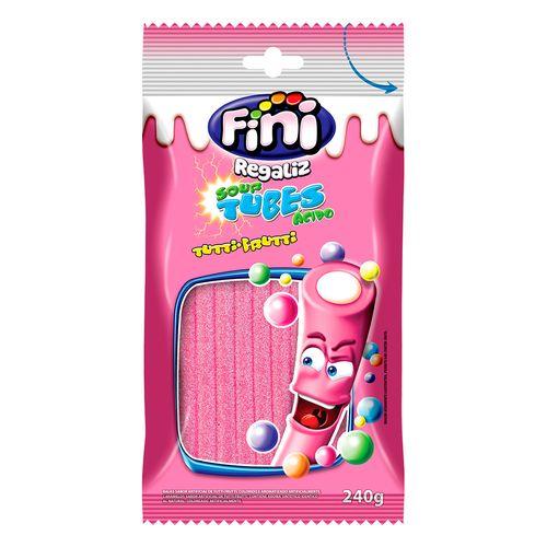 Tubes Sabor Tutti-Frutti 240g - Fini