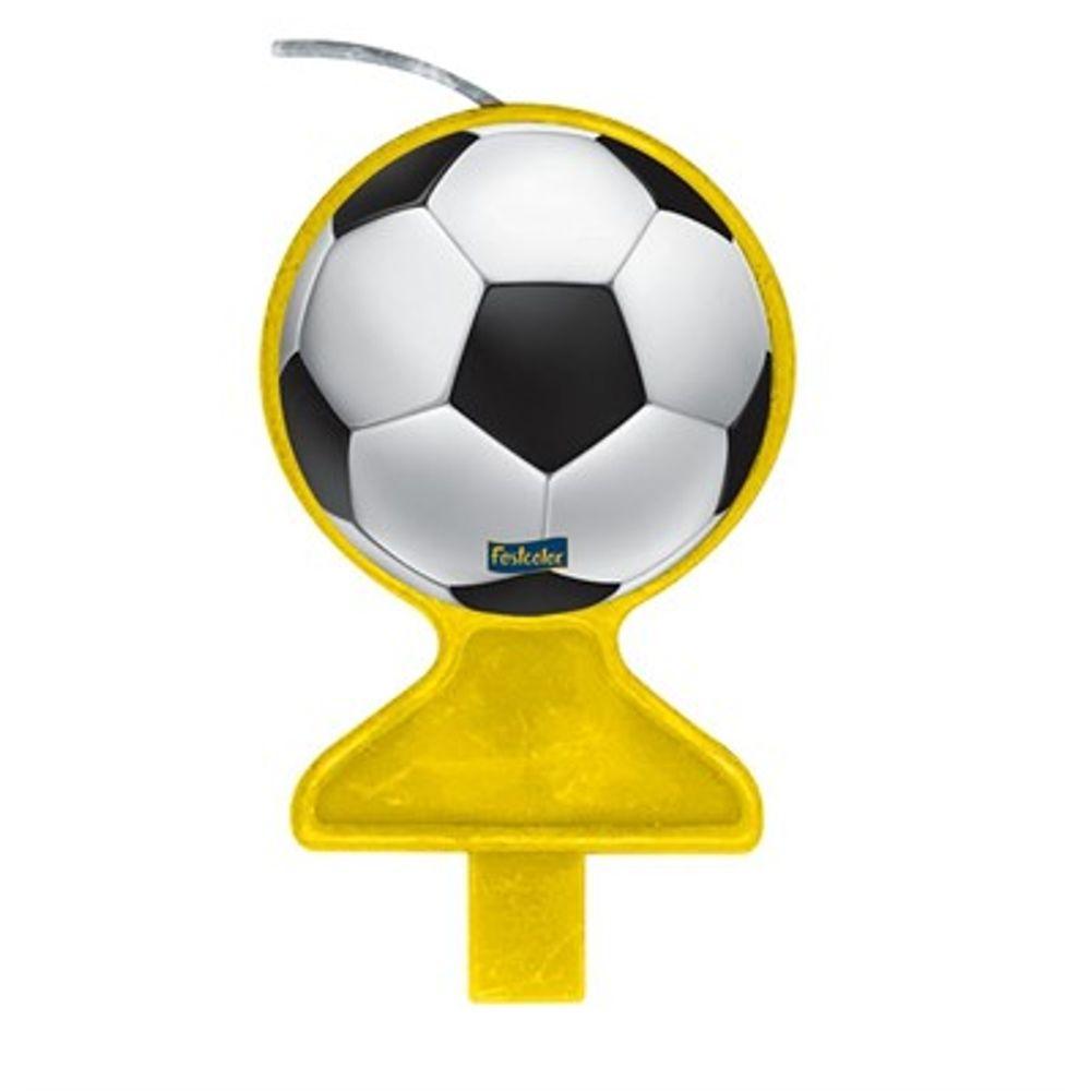 Vela de Aniversário Apaixonados Por Futebol - Festcolor