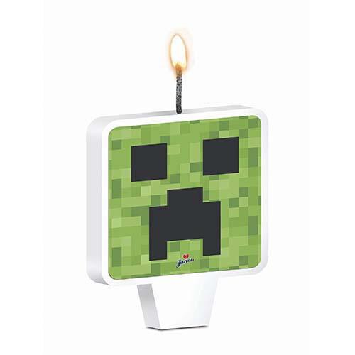 Vela de Aniversário Mini Pixels - Junco