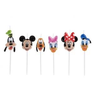 Vela de Aniversário Turma do Mickey - Silver Festas