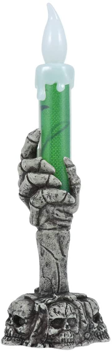 Vela Decorativa de Led Halloween Verde - YDH