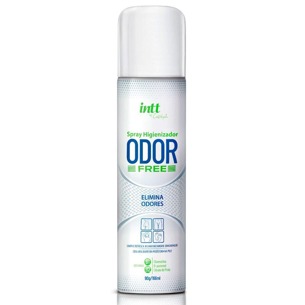 Spray Higienizador Odor Free Intt 166 ml