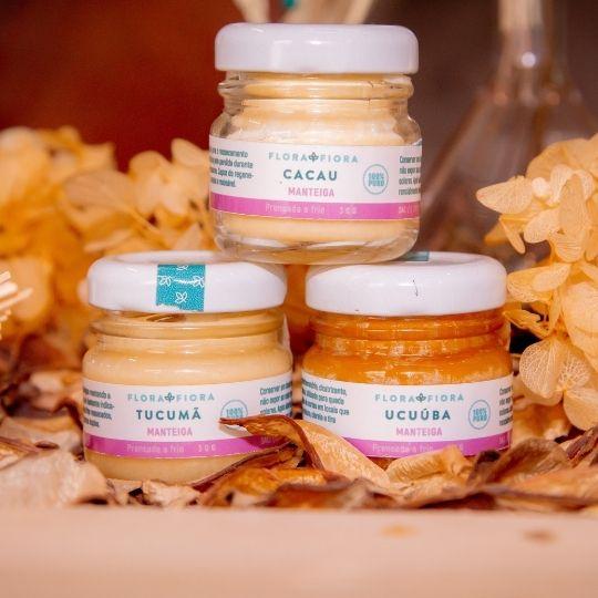 Manteigas para Nutrição Capilar  - Flora Fiora