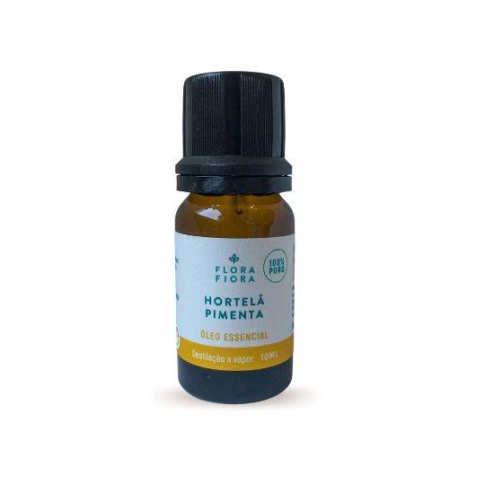 Óleo Essencial de Hortelã Pimenta - 10ml  - Flora Fiora