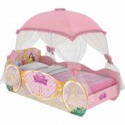 Cama Infantil Princesas Carruagem Star com Dossel - Pura Magia