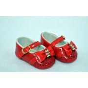 Sapatilha Infantil Baby Fashion Vermelha - Pimpolho