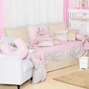 Kit Cama Baba Pique Bailarina 06 Pecas 180 Fios- Art For Baby
