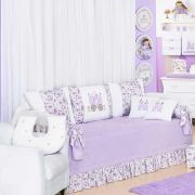 Kit Cama Baba Pique Princesa 06 Pecas - Art For Baby