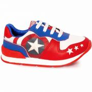 Tênis Infantil Masculino Vingadores Capitão América