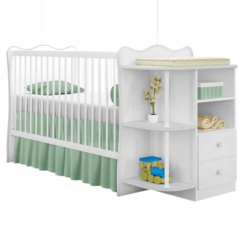Quarto de Bebê Completo Doce Sonho 2 portas Qmovi