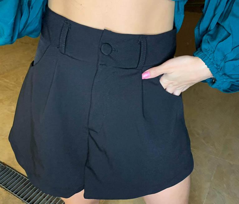 Shorts Kat Preto
