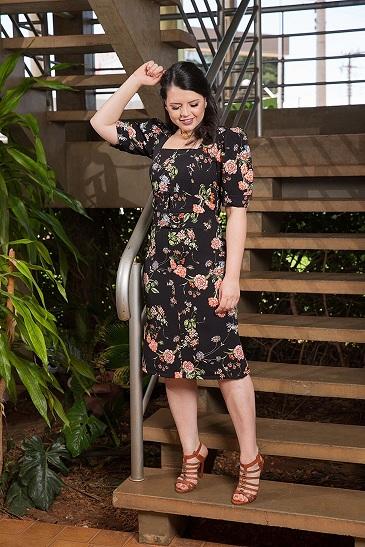 Vestido alfaiataria new look