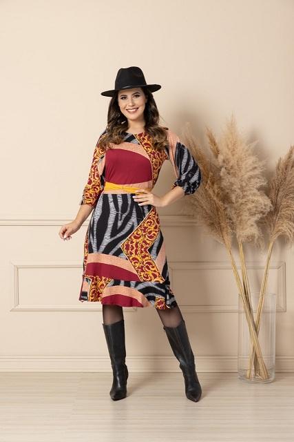 Vestido Maha Suede