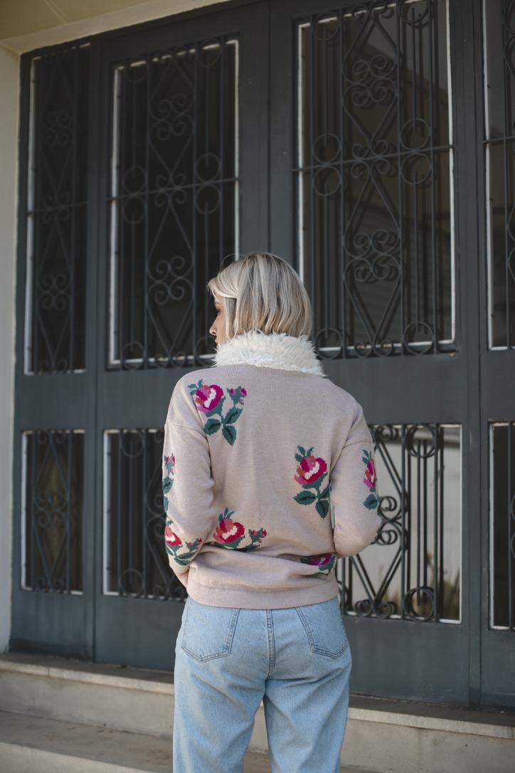 Blusa Flores Don Carli 170107