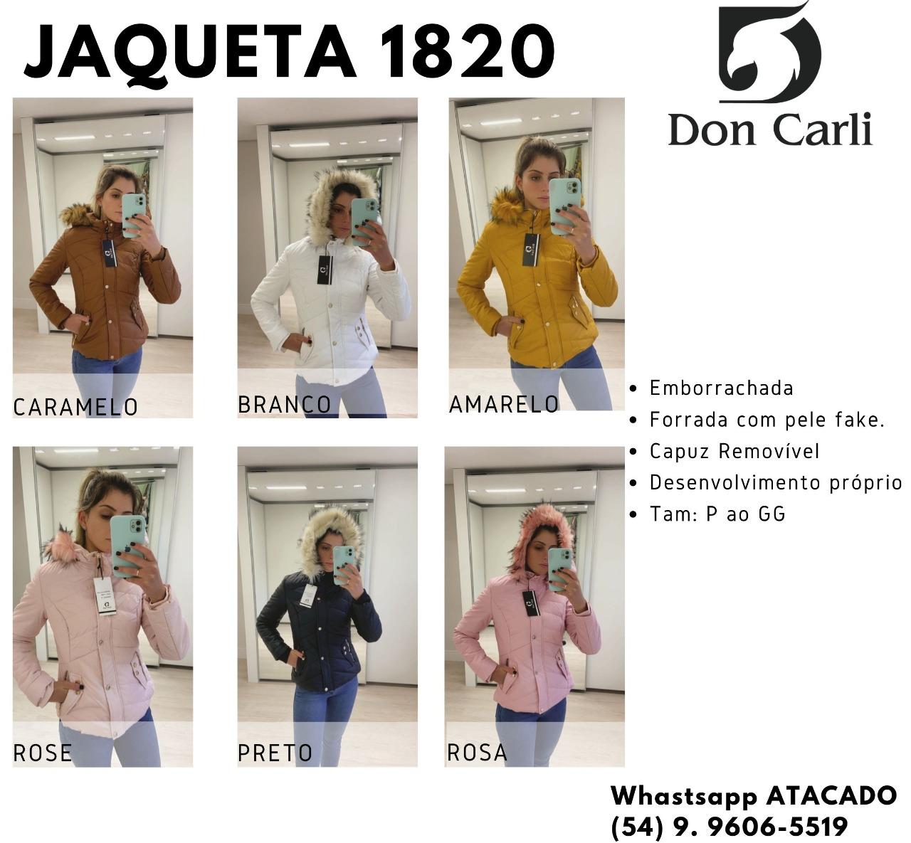 Jaqueta Don Carli 1820