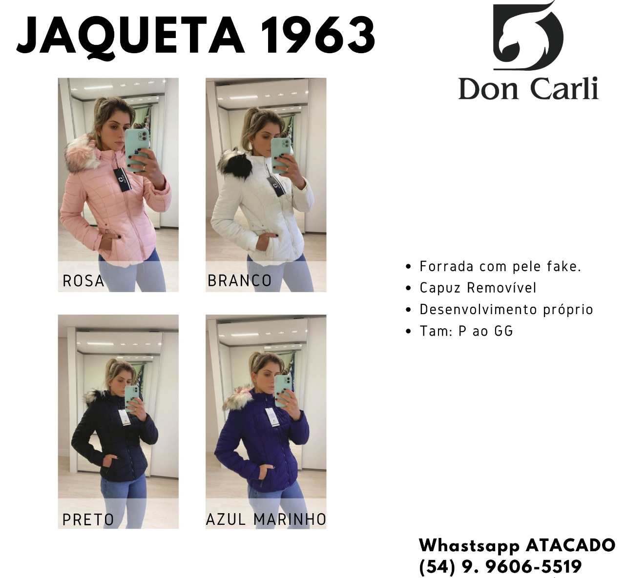 Jaqueta Don Carli 1963