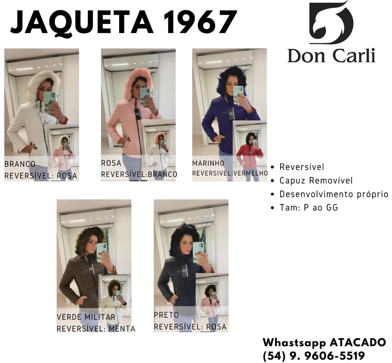 Jaqueta Don Carli 1967