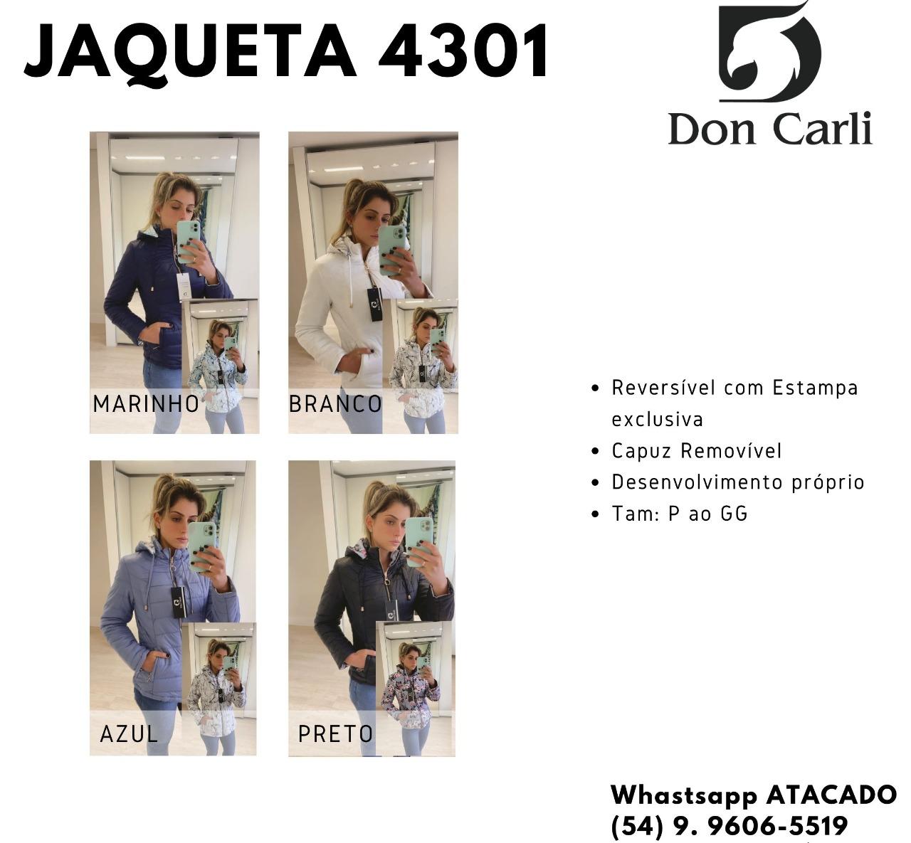 Jaqueta Don Carli 4301