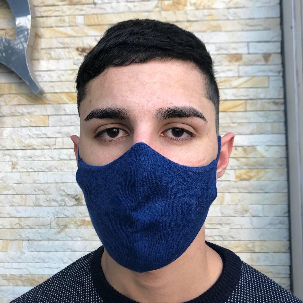 MÁSCARA TRADICIONAL  DON CARLI 3D KNITTING