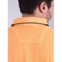 Camisa Polo Estonada Laranja