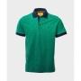 Camisa polo Rutra estampada verde