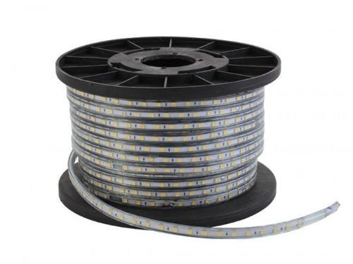 Mangueira Luminosa Led Verde 100 Metros Fita Chata (60 leds/mt)