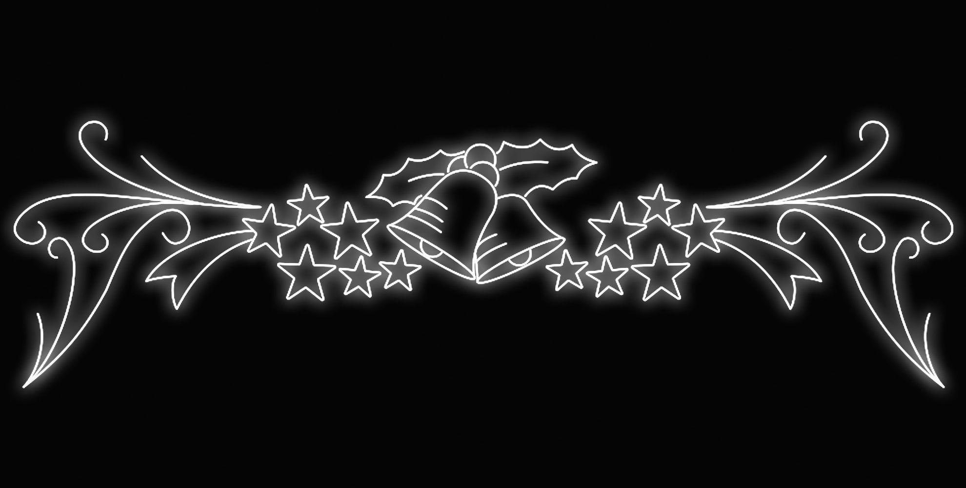 PO-007 - Painel Iluminado Led Ondas de Estrelas (Veja Opções)