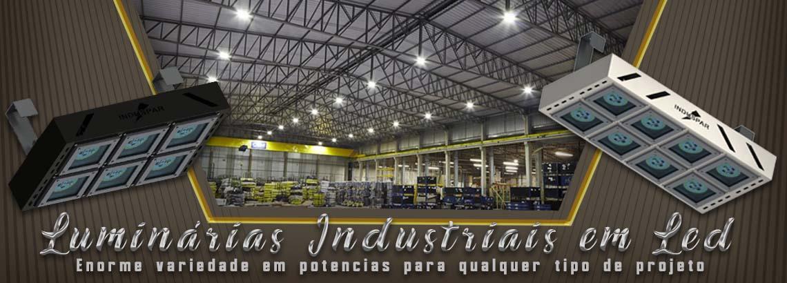 luminarias led dimerizÁveis industriais - modulares
