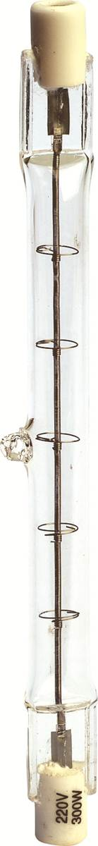 Lâmpada Halógena J Palito 118 MM x  300W R7S 2800K