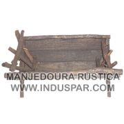 002/M - Manjedoura Rustíca Presépio Tradição