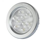 LL07 - Lâmpada  AR 111 LED   8W 3000K 12V BASE G53 FLC