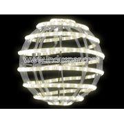 Bola de Natal  30 cm Gigante Led Esfera Globo Vertical