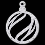 052-MD - Bola de Natal  52 cm Gigante Iluminado LED - BN06-DN