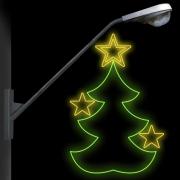 BP-043 - Decoração Árvore de Natal - tam 1,30 x 0,86 M