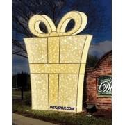 Caixa de Presente Gigante Glamour luxo - Med 2,5 metros