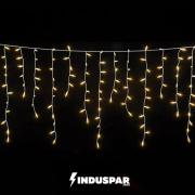 CASCATA 400 LED | BRANCO MORNO - 8 FUNÇÕES |TAM. 9,50M
