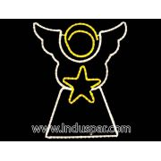 Anjo com Estrelas G - MED 1,60 X 1,40 MT