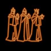 Ref: 487 - Presépio Jerusalém Reis Magos - MED 1,35 X 2,98 mts