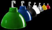 L06- Luminária de Alumínio Gancho e Refletor 20 Pol  com Cores Diversas