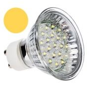 Lâmpada Dicróica Led MR16 Gu10 Branco Morno 20 Led 220v