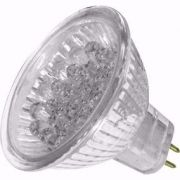 Lâmpada LED  0,5W Dicróica 7 LEDs MR11 6200K 12V