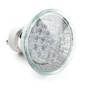Lâmpada LED  1,3W Dicróica 20 LEDs Branco Morno 220V