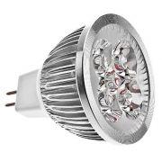 Lâmpada Led 5W Branco Frio 6000K - 12v Mr16 Gu5.3 - 5 leds x1 W