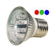 Lâmpada PAR 20 Led 2,1W E27 RGB 2,1W 30 LEDs 127V