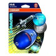 Lâmpada Super Branca Osram X-racer H4 4000k 60/55w (par)