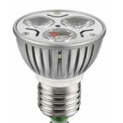 Led Dicróica Power Led JDR 3,5W Bivolt Branca Fria ELGIN E27