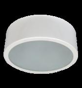 Luminária de Sobrepor de 200MM em Aluminio, Redonda, para 1 Lâmpada de 25W, Soquete E27 - WDESIGN